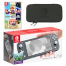 Nintendo Switch Lite (Grey) Super Mario 3D All-Stars Pack