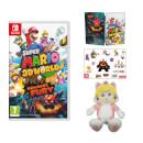 Super Mario 3D World + Bowser's Fury + Cat Peach Soft Toy