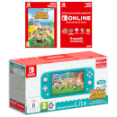 Nintendo Switch Lite (Turquoise) + Animal Crossing: New Horizons + Nintendo Switch Online (3 Months)