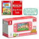 Nintendo Switch Lite (Coral) + Animal Crossing: New Horizons + Nintendo Switch Online (3 Months) Pack