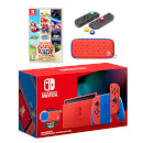 Nintendo Switch Mario Red & Blue Edition + Super Mario 3D All-Stars Pack