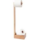 Wireworks Mezza Natural Oak Freestanding Roll Holder