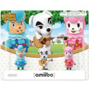 Animal Crossing Triple Pack (K.K. Slider + Cyrus + Reese) amiibo (Animal Crossing Collection)