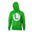 Luigi L Logo Green Hoodie