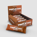 Myprotein Triple Stack Bar (USA) - 12 x 3.1Oz - Chocolate Brownie