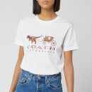 Coach 1941 Women's Rexy and Carriage T-Shirt - White