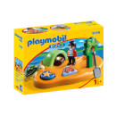 Playmobil 1.2.3 Pirate Island with Shape Sorting Function (9119)
