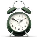 Newgate Brick Lane Silent Alarm Clock - Green