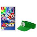Mario Tennis Aces + Luigi Visor