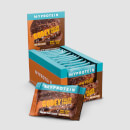 Gefüllter Protein Cookie - 12 x 75g - Double Chocolate & Caramel
