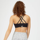Essentials Training Sports Bra - Black - S