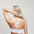 Essentials Training Sports Bra - White - XS