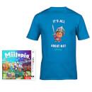 Miitopia + All About Mii T-Shirt (Blue)