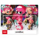 Octoling Triple Pack (Octoling Boy + Octopus + Girl) amiibo (Splatoon Collection)