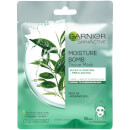 Garnier Moisture Bomb Green Tea Hydrating Face Sheet Mask for Combination Skin 32g
