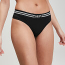 MP Essentials Seamless Thong - Black - M