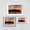 Thunderbolt Photography Conwy River Sunset Art Print