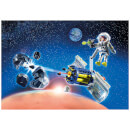 Playmobil Space Satellite Meteoroid Laser with Working Cannon (9490)