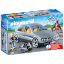 Playmobil City Action SWAT Undercover Car with Removeable Flashing Blue Light (9361)