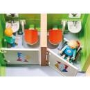Playmobil City Life Furnished School Building with Digital Clock (9453)