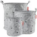 Done by Deer Storage Baskets - Grey (Set of 3)