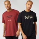 Black Friday Limited Edition Graphic T-Shirt (2 Pack) - Black/Paprika - XS
