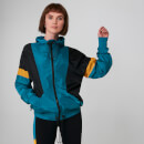 Colour Block Windbreaker - Blauw - S