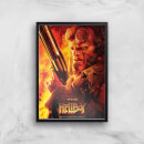 Hellboy Give Evil Hell Art Print