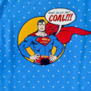 Superman 'Bad Guys Get Coal' Knitted Christmas Jumper