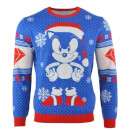 Sonic the Hedgehog Sonic Gem Knitted Christmas Jumper