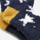 Joules Women's Fabulously Fluffy - Navy Winter Star
