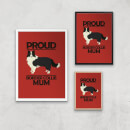 Proud BorderCollie Mum Art Print