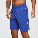 MP Training Men's Stretch Woven 9 Inch Shorts - Cobalt - XS