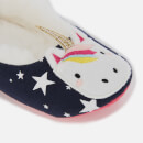 Joules Kids' Dreama Ballet Slippers - Unicorn
