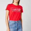 Levi's Women's The Perfect T-Shirt - Hsmk Outline Brilliant Red