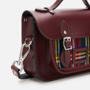 The Cambridge Satchel Company Women's Mini Satchel - Oxblood/SDM Tartan
