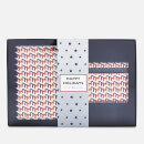 Tommy Hilfiger Women's Passport Holder and Credit Card Case Set - Metallic Monogram