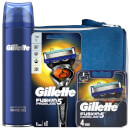 Gillette Fusion5 Proglide Shaving Kit with Wash Bag