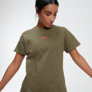 MP Women's Power Oversized T-Shirt - Avocado - XS