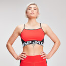 Naisten MP Colour Block Branded Crop Top - Danger - XS