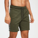 MP Rest Day Men's Double Tape Tricot Shorts - Army Green