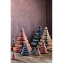 Broste Copenhagen Paper Christmas Tree Decoration (Set of 3) - Orion Blue
