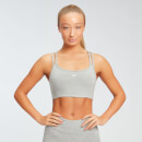 MP Essentials Jersey Bra - Grey Marl - XS