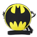Loungefly DC Comics Dc Batman Chenille Canteen Crossbody Bag