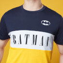 Batman Panelled T-Shirt - Yellow