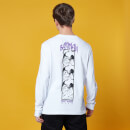 Gotham Guardian Panel Long Sleeved T-Shirt - White