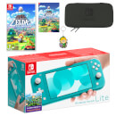 Nintendo Switch Lite (Turquoise) The Legend of Zelda: Link's Awakening Pack