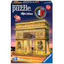 Ravensburger Arc de Triomphe Night Edition 3D Jigsaw Puzzle (216 Pieces)