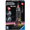 Empire State Building Night Edition 3D Jigsaw Puzzle (216 Pieces)