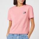 Tommy Jeans Women's Tommy Badge T-Shirt - Pink Icing